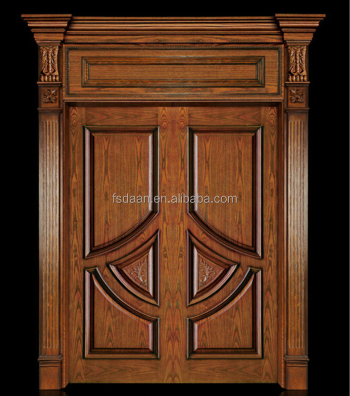 Double wood door design teak wood buy teak wood double for Big main door designs