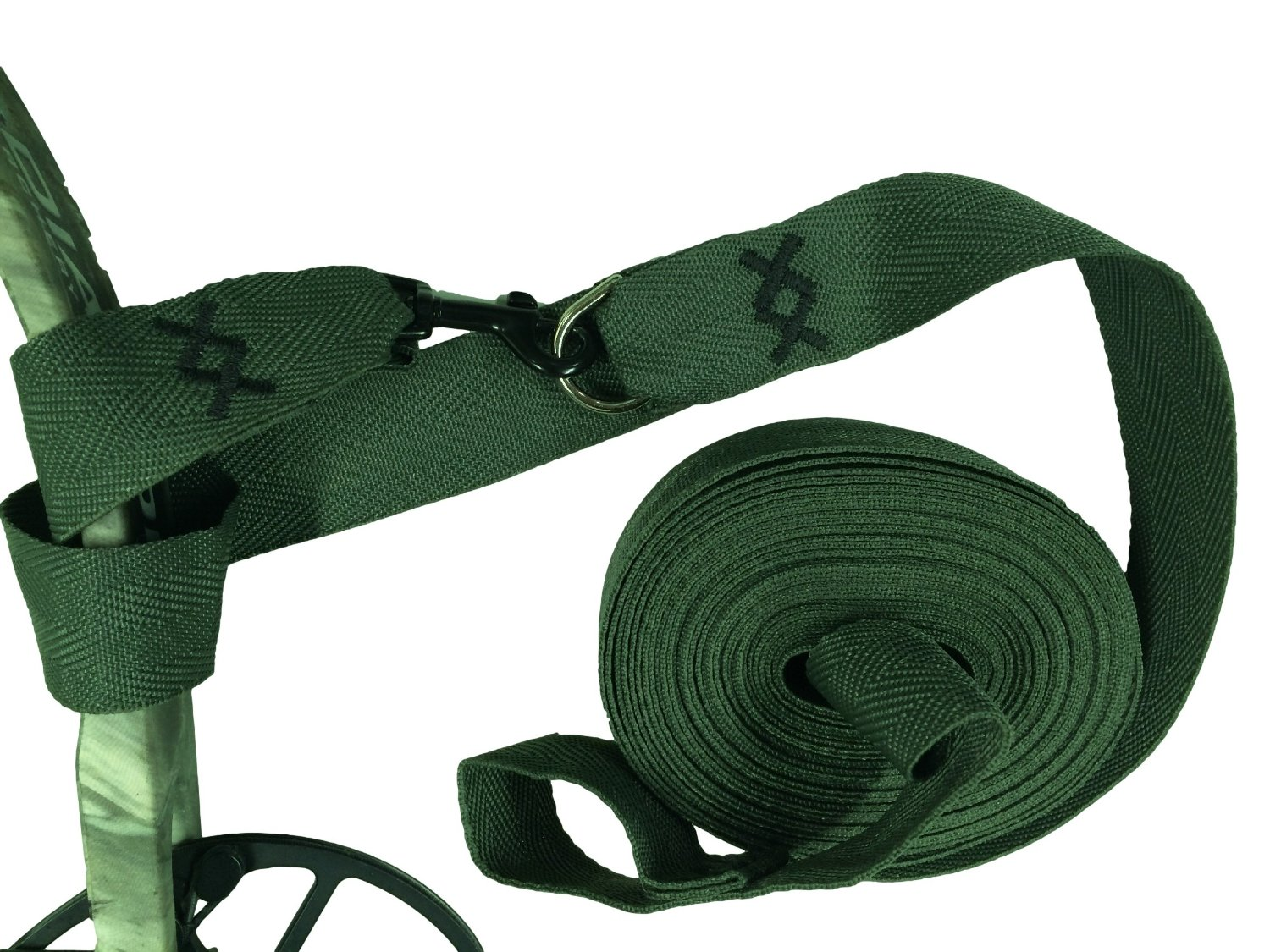 """Bow Easy Lift, Bow Pull up Strap Over 27 foot long! Much Easier on Your Hands in Cold or Wet Weather. At 1-3/8"""" Wide You Have Much Better Control. A Double Wrap Connection System Insures Your Equipment is Safe."""