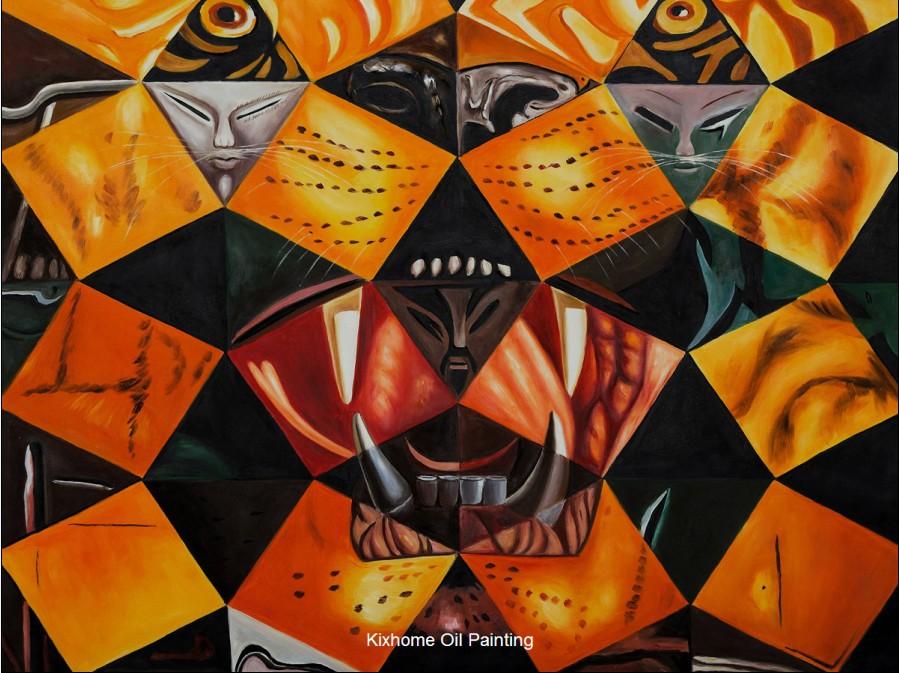 Dali Cinquenta Imagenes Abstractas by Salvador Dali