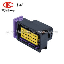 Kinkong 24 Pin ECU Waterproof FCI LNG/CNG Auto Electric Connector For NGV