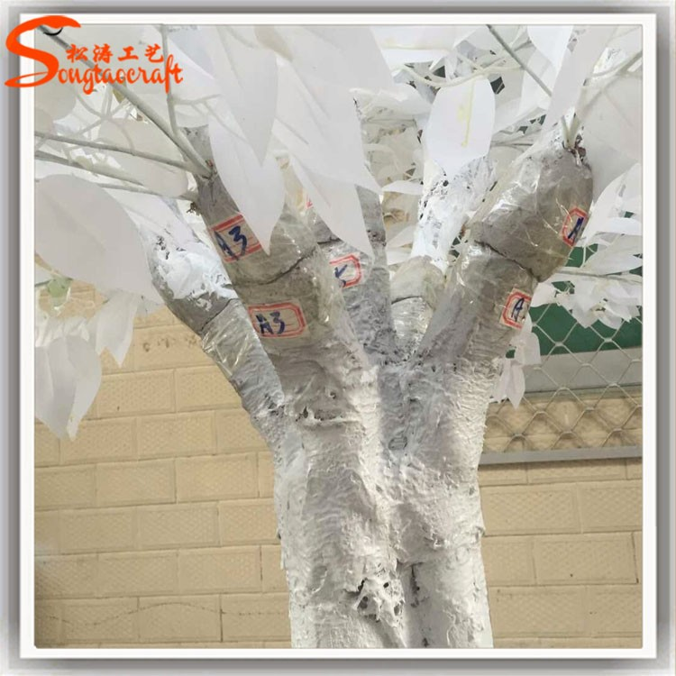 Decorations Wedding Life Size Artificial White Birch Trees Decorative Tree Branch