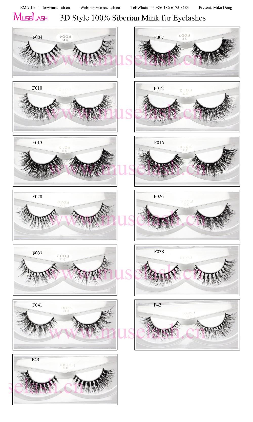 143663ed549 oem mink false eyelashes mink 3d lashes 100% real mink lashes manufacturer