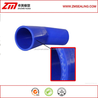 3 Ply reinforcement silicone hose elbow coupler hose