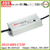 Meanwell HLG-60H-C350 350ma constant current dimmable led driver