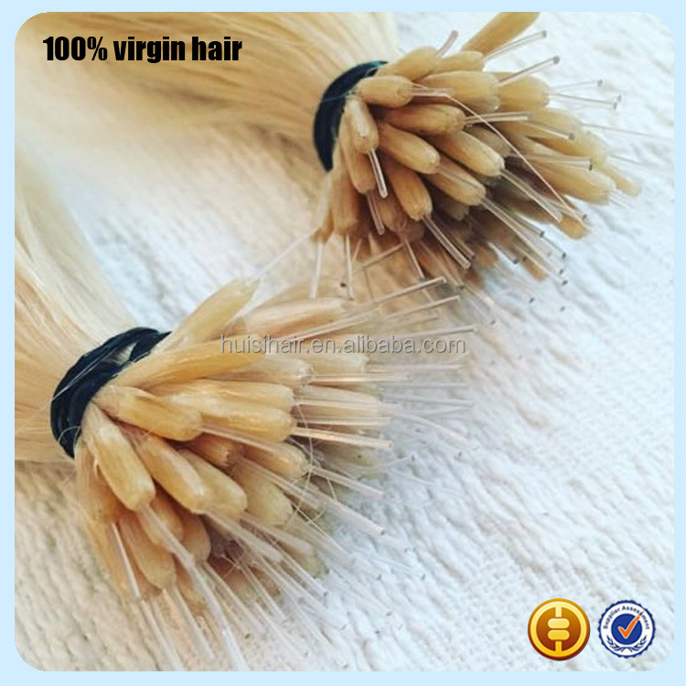 New design products for girls fusion tip popular in market wholesaler price pre-bonded hair for white women