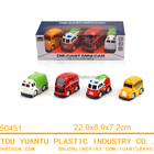 Child gift toys four items mixed pull back metal alloy toy model cars