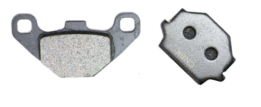 2 Pads CNBK Front Brake Shoe Pads Semi-Metallic fit for APRILIA Street Bike 50 Tuono 03 04 2003 2004 1 Pair