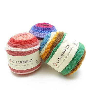 Charmkey Hair Wool Acrylic Cake Yarn Cheap Wool Yarn Cone Cake Yarn  Wholesale For Accessories And Homeware - Buy Cake Yarn,Hair Wool Acrylic  Yarn,Wool