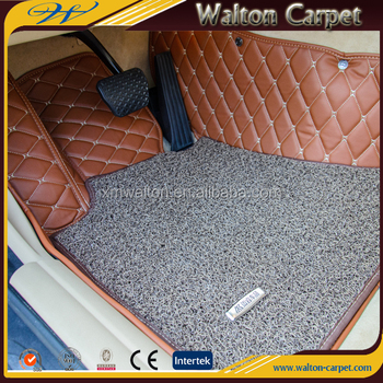 pvc coil splicing leather dust control luxury car interior. Black Bedroom Furniture Sets. Home Design Ideas