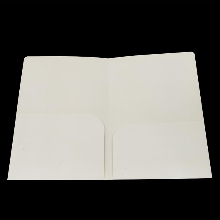 Volledige Kleurendruk Papier Bestandsmap met Binnenzakken Voor Kantoor en School