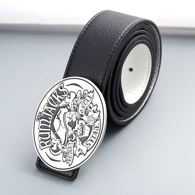 Top quality metal custom made military belt buckles for men