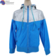 China factory Professional 3D printing 100% cotton blue zip up rain proof jacket for men