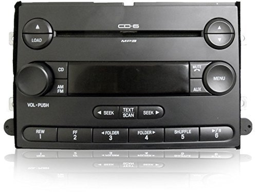 Get Quotations FORD Fusion MERCURY Milan Premium Radio 6 Disc Changer MP3 CD Player 06 09 New