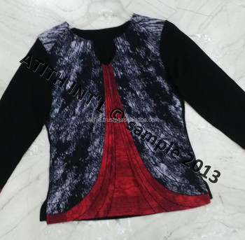 Hot selling new fashion girls tops ladies tops latest design latest tops  designs. Hot Selling New Fashion Girls Tops Ladies Tops Latest Design