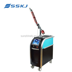 Korea Technology 532 1064 755 Picosure Laser Machine For tattoo removal skin rejuvenation