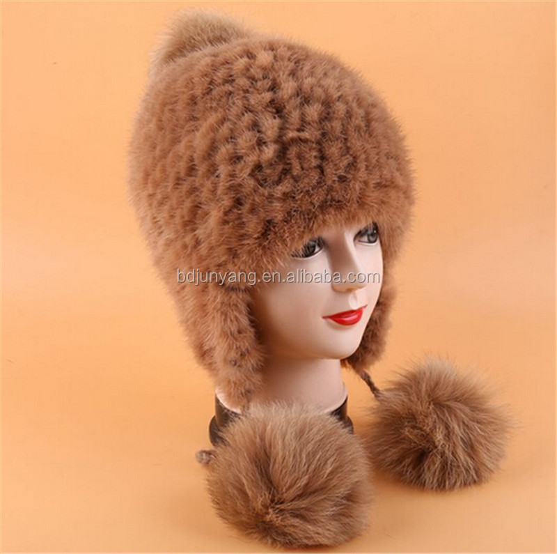 fur hat scarf gloves all in one hand knitted winter fur hat pattern russian c14a20b6c81