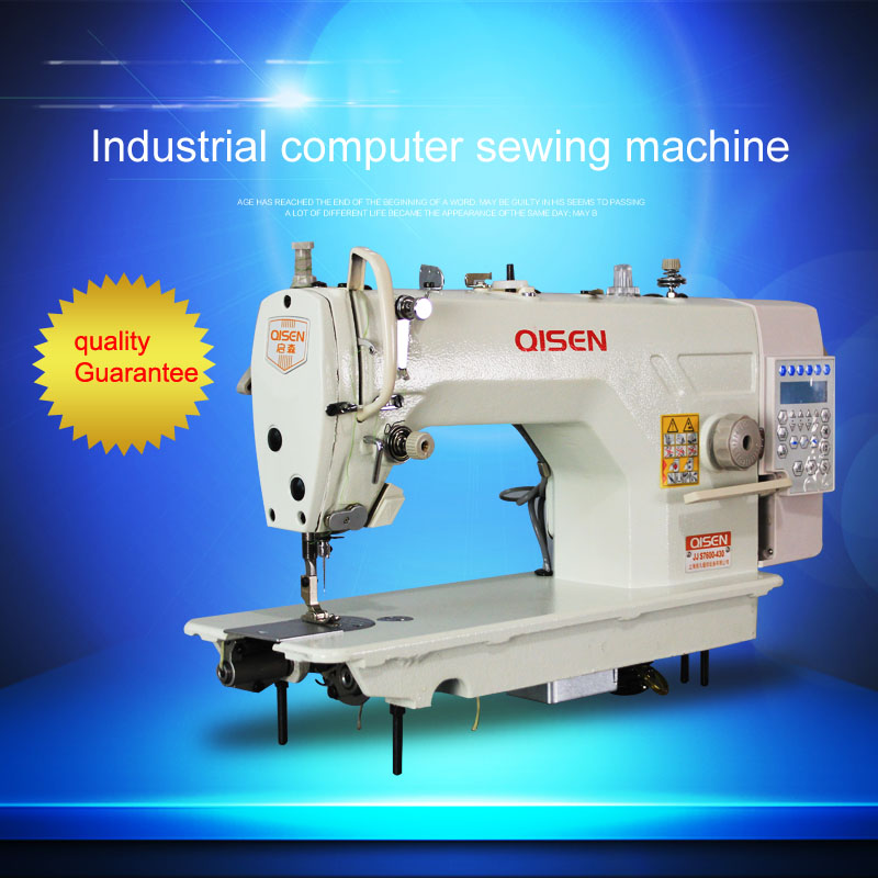 Direct Drive Computer Highspeed Lockstitch Sewing Machine With Auto New High End Sewing Machines