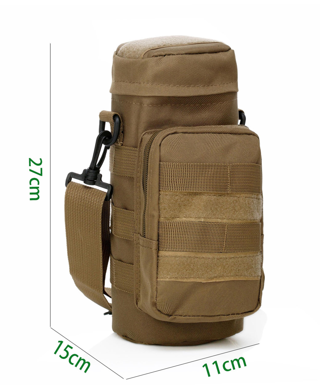 Hotour Tragbar MOLLE Wasser Flasche Tasche Tactical Military Outdoor Sports Tasche