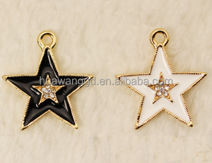 New product double-deck star dangle for bracelet,underwear,necklace,hair accessories,girls dress