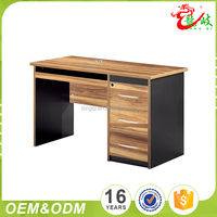 Factory Outlet Stand Wear And Tear Wooden Office Computer Table Desk For Sale