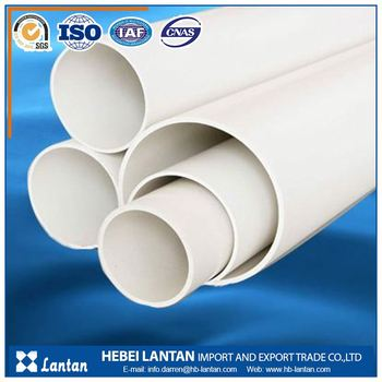 ISO standard factory Flexible water pvc drainage pipe
