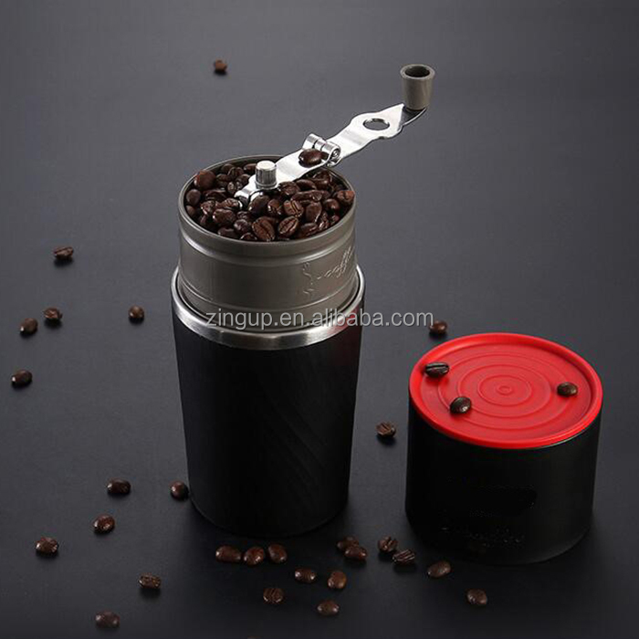 ZingUp All In One Mini Espresso Portable Coffee Maker with Hand Grinder