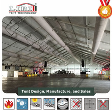 2017 new special design TFS curve tent for sale for rental