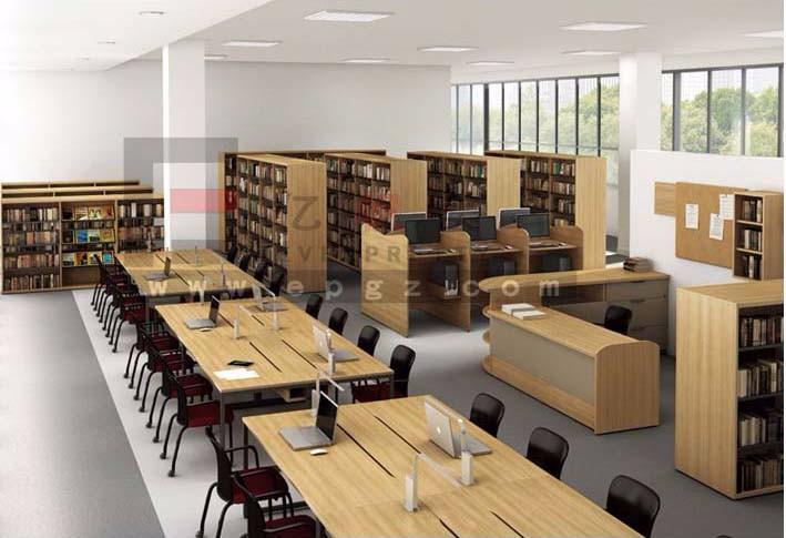 Popular Design School Library Furniture Wooden Partition Reading Table. Popular Design School Library Furniture Wooden Partition Reading