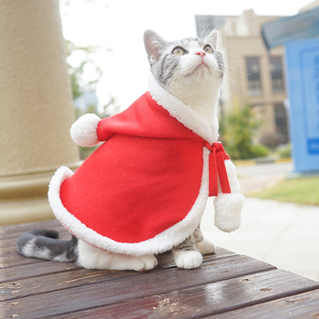 Custom wholesale luxury winter cat clothes pet dog bandana christmas