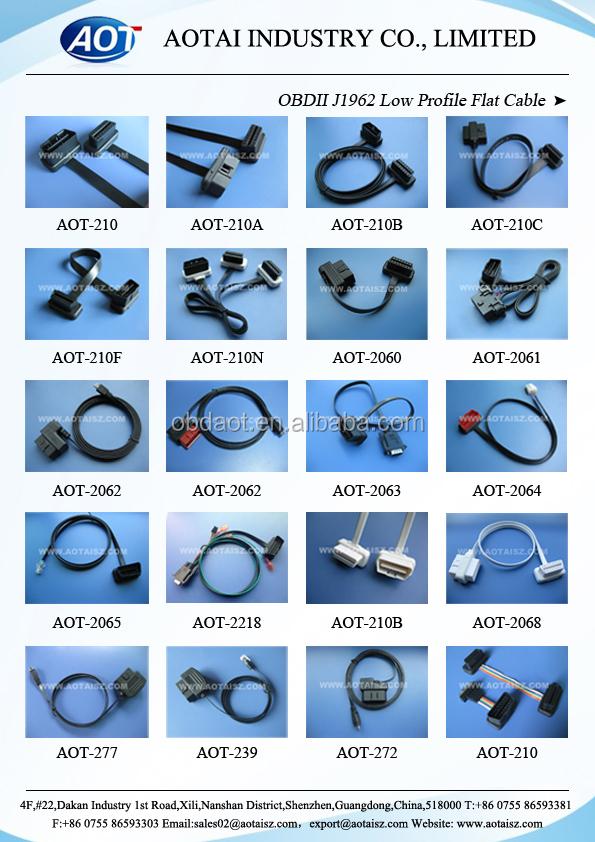 China Bosch Kts520 Diagnostic Obd2 Cable 4 Core Multimode Fiber ...