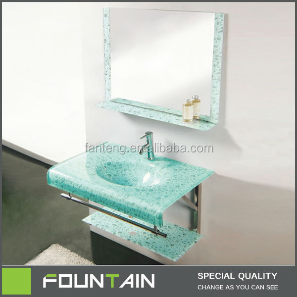 bol en verre lavabo avec pied vert couleur vasque en verre. Black Bedroom Furniture Sets. Home Design Ideas