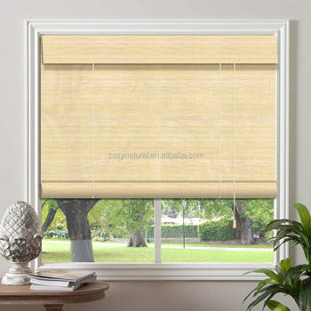 "Bamboo Roll-up Blind Window Shades Shutters 24"",36"",48"",72"""