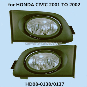 Fog light for HONDA CIVIC 2001 to 2002 auto accessories halogen fog lamp