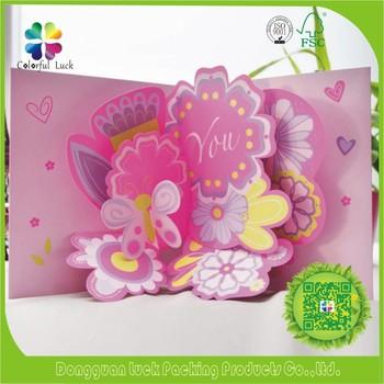 3d pop up handmade flower valentine design greeting card buy 3d pop up handmade flower valentine design greeting card m4hsunfo