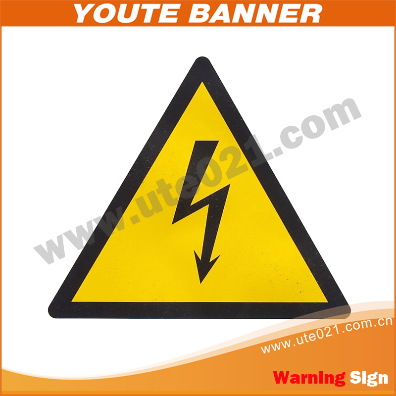 Reflective Triangle Warning Stop Sign; Safty Triangle Sign
