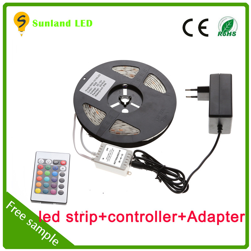 American christmas decorations IP66 5M SMD5050 flexible wholesale 120 leds/m rgb led strip