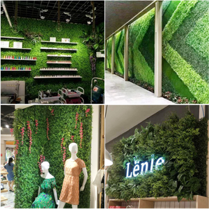 Different Types Wholesale Artificial Moss Grass Home Art Decoration Wall