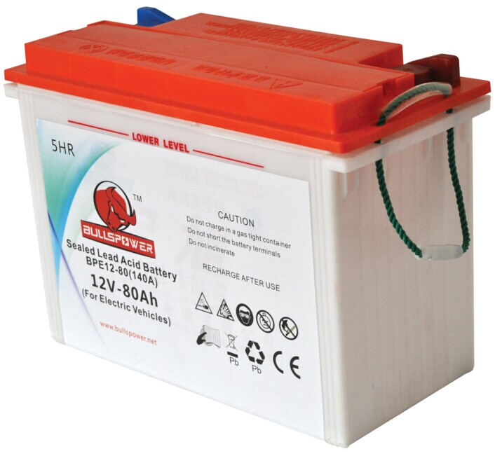 12v 80ah dry charged battery for electric tricycle