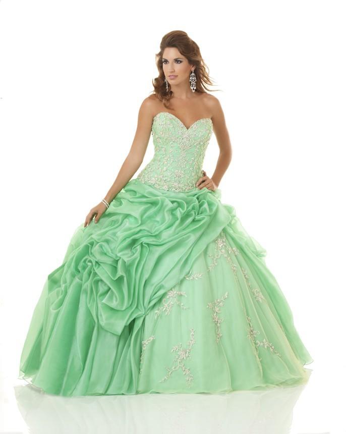 f06db29189 Get Quotations · Sweetheart Quinceanera Dresses 2015 Ball Gown Trajes De  Quinceaneras Appliques Vestido De 15 Anos Line Green