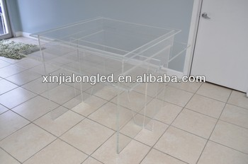 Transparent Acrylic Home Furniture Coffee Tables Acrylic End Table Pure  Acrylic Wedding Cake Display Table Part 93