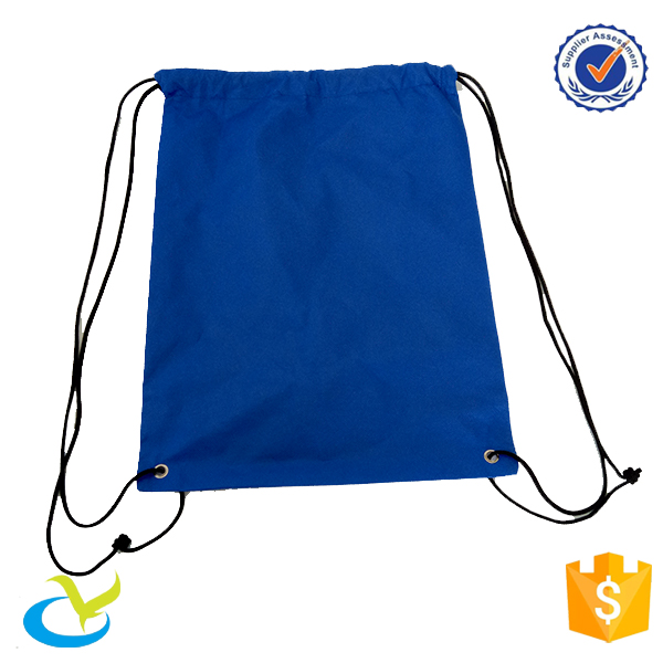 Wholesale outdoors eco-friendly promo non-woven drawstring backpack