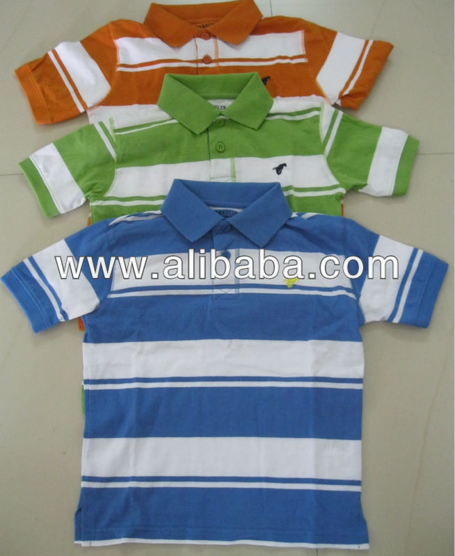 mens yarn dyed Polo collar shirts BAMBOO/COTTON