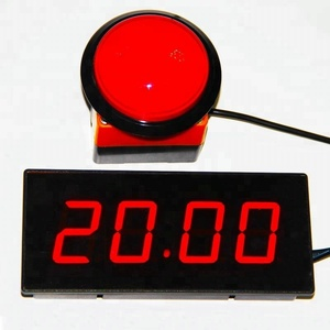 High Quality Product LED Digital Minute Second 4 Digits Countdown Timer