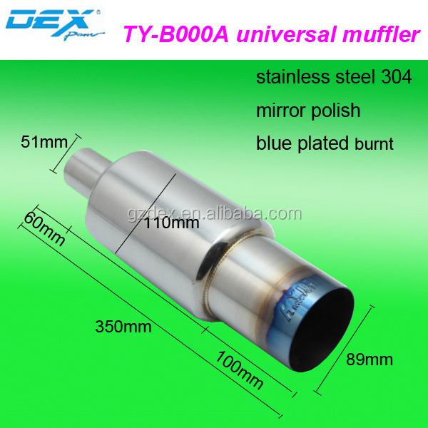 Car Parts Universal Color Hks Exhaust Muffler Pipe Factory Direct ...