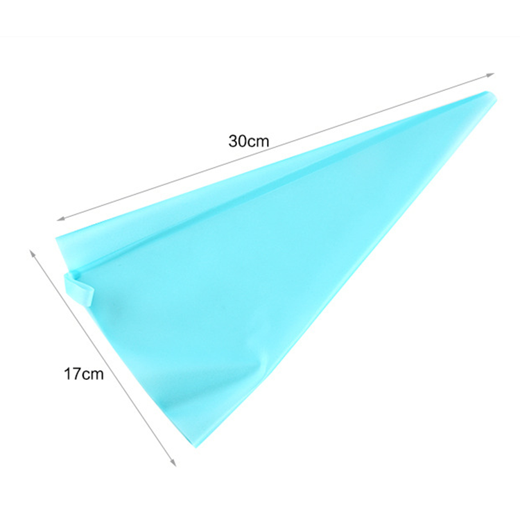 2019 Hot Sale New Product Reusable Silicon Cake Pastry Bag Cream Icing Piping Bag Cake DIY Decorating Tool