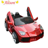 Alison Low Price Children 2 Seat Remote Control Kids Electric Car With MP3 Player