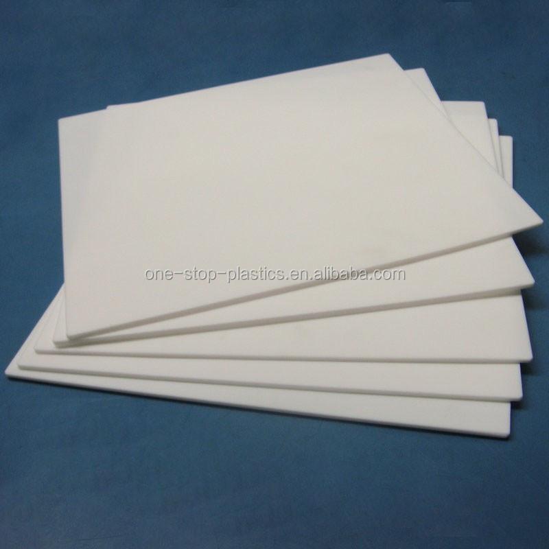 High Temperature Resistance White Hard Plastic Ptfe Pfa