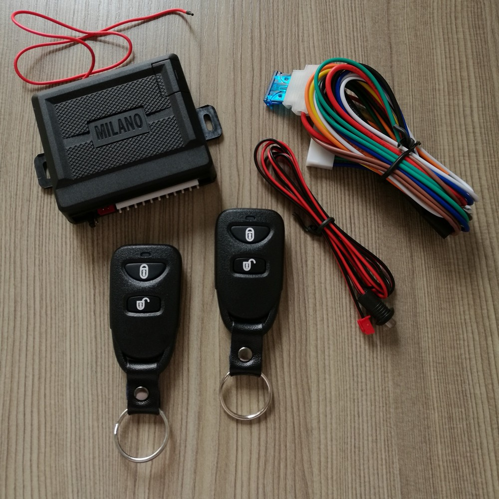 Car Remote Unlocker >> Milano Keyless Entry System Dubai With Remote Control Lock And Unlock Trunk Release Parking Light With Led View Milano Alarm Lanbo Product