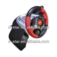 2017 plastic usb car game steering wheel remote control