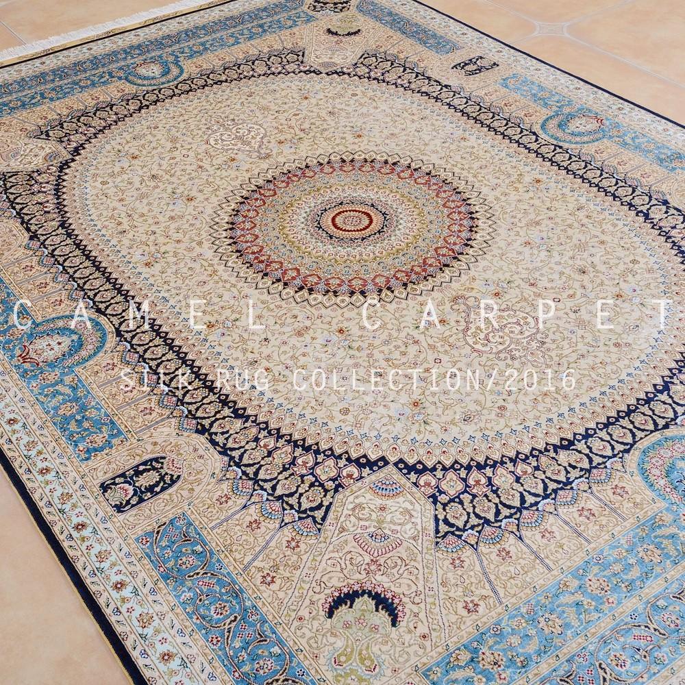 Tapis Persan Tabriz Soie Tapis De Sol De Luxe Zone Tapis Iranien